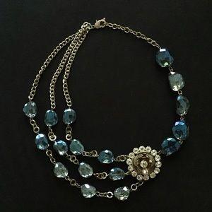 Floral Multi-strand necklace